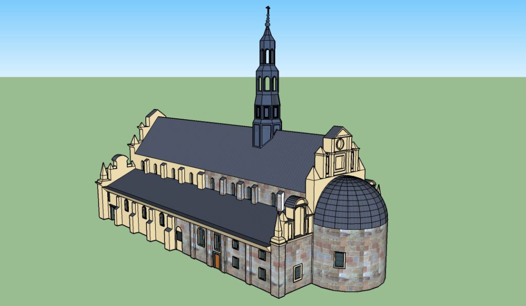 Bazylika Katedralna w Kielcach – pomiar skanerem laserowym
