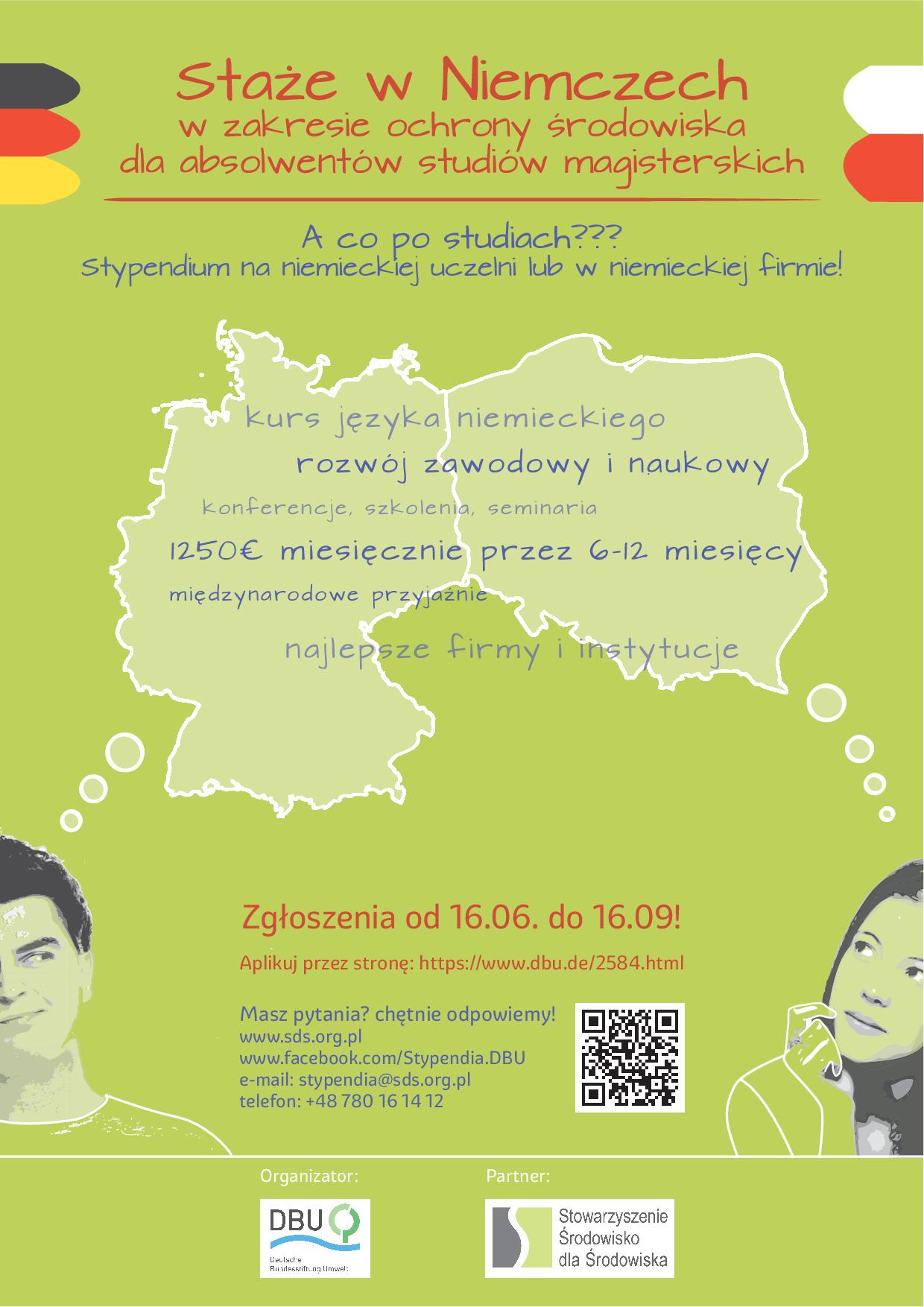 Staże w Niemczech dla absolwentów