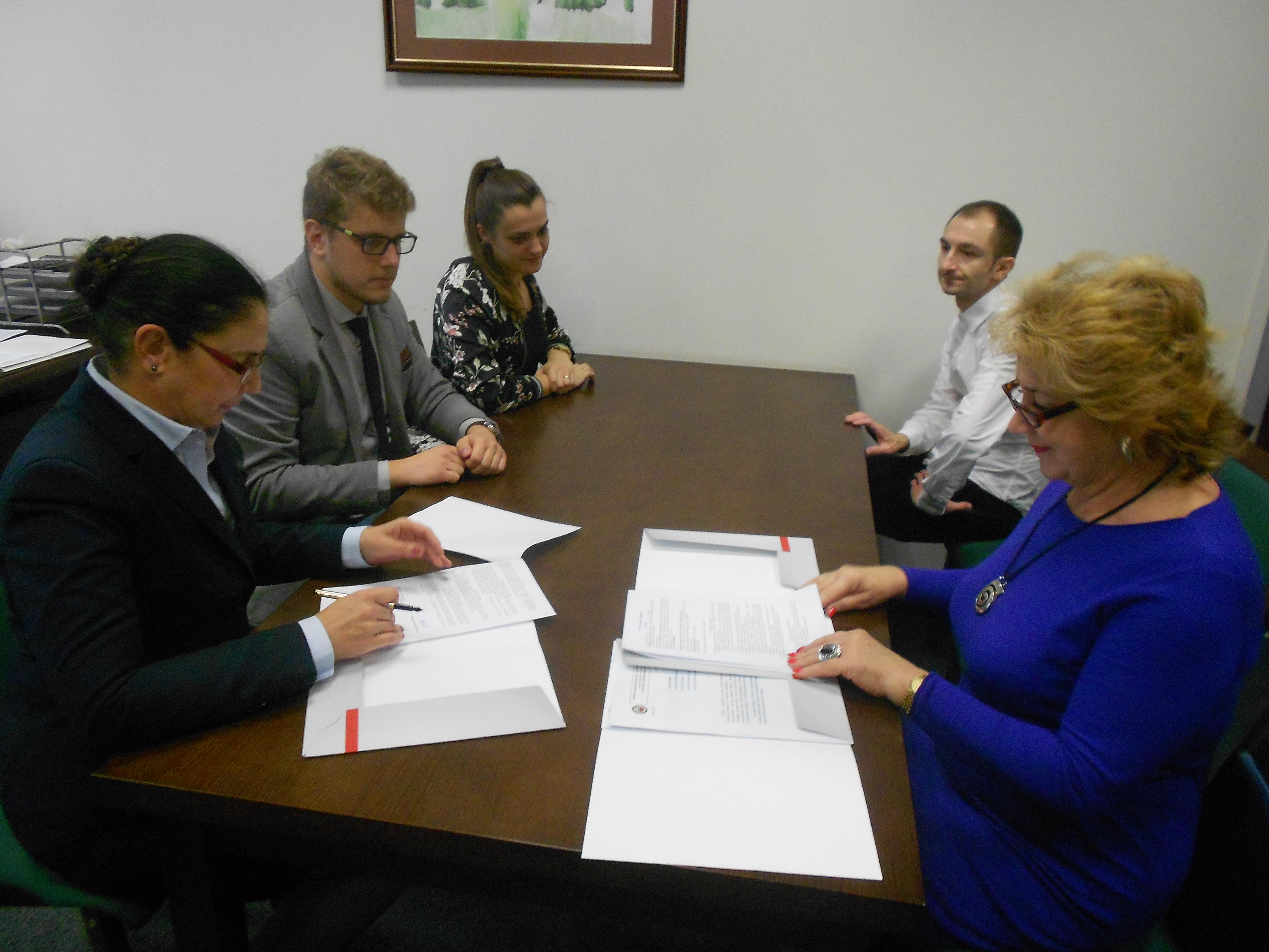 Zacieśnianie współpracy pomiędzy WIŚGiE PŚk i PZITS O/Kielce