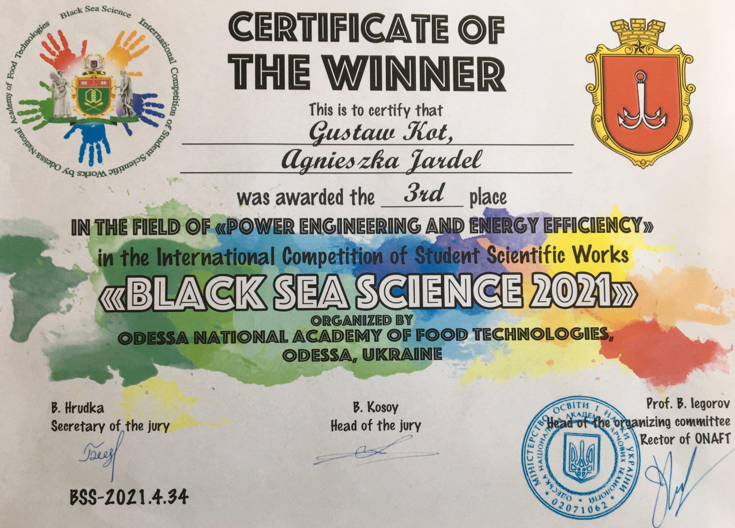Sukces studentów naszego Wydziału
